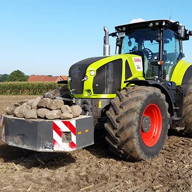 Bodenbearbeitung von Agrarservice Meyer