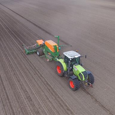 Bodenbestellung von Agrarservice Meyer