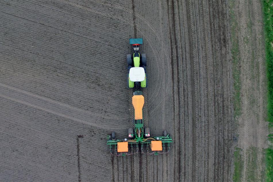 Grasbestellung von Agrarservice Meyer