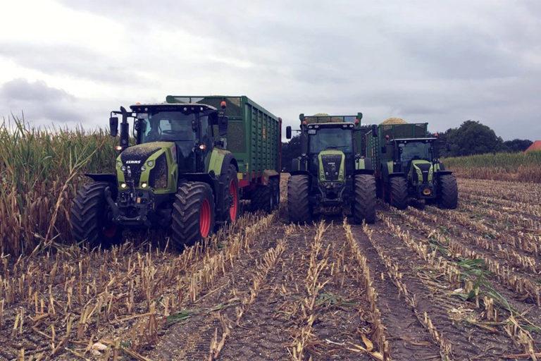 Ernte Transport von Agrarservice Meyer