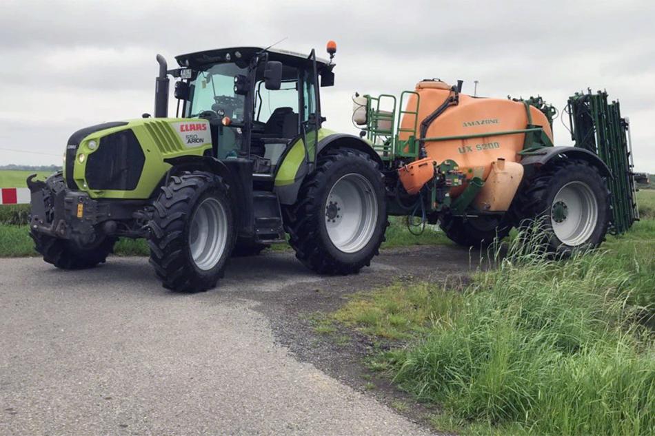 Pflanzenschutztechnik von Agrarservice Meyer